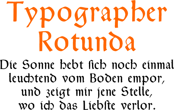 typographer rotunda
